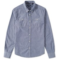 Woolrich Workwear Shirt Blue