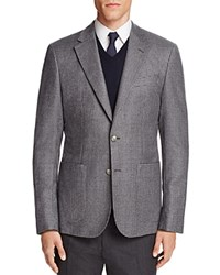 Hardy Amies Micro Check Slim Fit Sport Coat Lt Grey