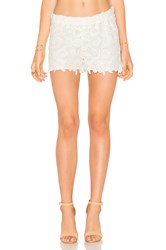 Wayf Crochet Short White