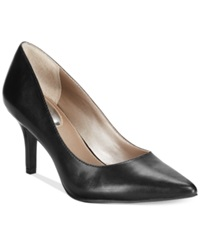 Alfani Women's Jeules Pumps Women's Shoes Black Leather