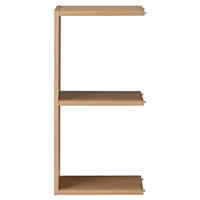 Additional Stacking Shelf 2 Row Oak