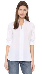 Marie Marot Mary Tunic Shirt White