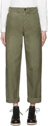 Chimala Green 1943 Military Field Trousers
