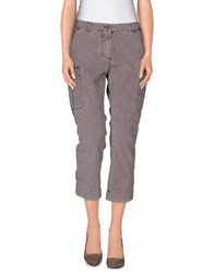 Marina Yachting Trousers 3 4 Length Trousers Men Dove Grey