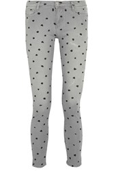 Each X Other Printed Mid Rise Skinny Jeans