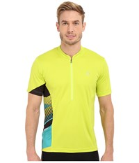 Pearl Izumi Journey Top Lime Punch Men's Clothing Multi