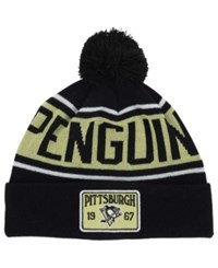 Old Time Hockey Pittsburgh Penguins Juneau Pom Knit Hat
