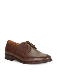 Polo Ralph Lauren Mollington Leather Oxfords Dark Brown