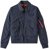 Alpha Industries Cwu Vf Tt Jacket Blue