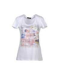Romeo Y Julieta Topwear Short Sleeve T Shirts Women White