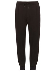 Mcq By Alexander Mcqueen Textured Jersey Track Pants Black