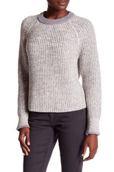 Rag And Bone Karen Crew Sweater White