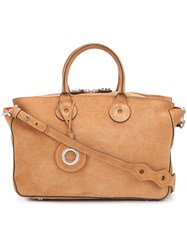 Carven 'Sac A Main' Tote Brown