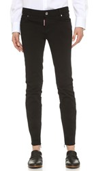 Dsquared Medium Waist Twiggy Jeans Black