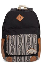 Billabong Junior Women's 'Hidden Trek' Geo Print Canvas Backpack