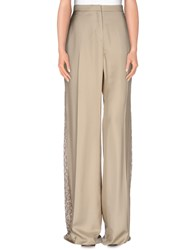 Zuhair Murad Trousers Casual Trousers Women Beige
