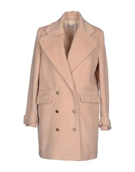 Hoss Intropia Coats And Jackets Coats Women Sand