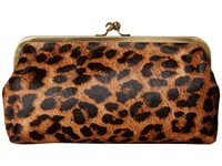 Patricia Nash Potenaz Riot Rust Clutch Handbags Animal Print