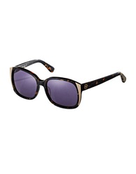 House Of Harlow Julie Round Sunglasses Black