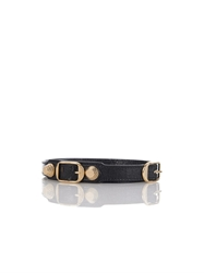 Balenciaga Wrap Around Leather Bracelet