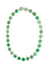 Irene Neuwirth Chrysoprase And Yellow Gold Necklace Green