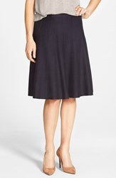 Petite Women's Nic Zoe Panel Twirl Skirt Midnight