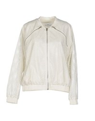 Suncoo Coats And Jackets Jackets Women Ivory