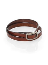Robin Rotenier Seville Leather Wrap Bracelet