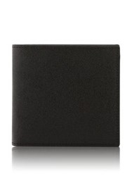Reiss Bishop Caviar Grain Wallet Black