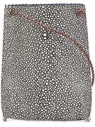 B May 'Cell Pouch' Crossbody Bag Black