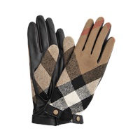 Burberry Jenny Touch Check Gloves