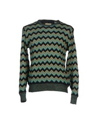 Levi's Made And Crafted Sweaters Deep Jade