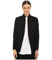Y's By Yohji Yamamoto U Stand Up Collar Reversible Blazer Jacket Black Women's Jacket