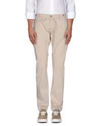 Truenyc. Trousers Casual Trousers Men Beige