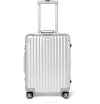 Rimowa Topas Multiwheel 55Cm Carry On Case Silver