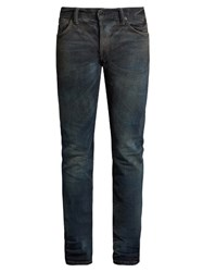 Mastercraft Union Slim Tapered Leg Washed Resin Jeans Blue