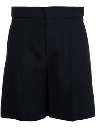 Chloe High Waisted Tailored Shorts Black