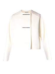 Balenciaga Metal Bar Collarless Jacket