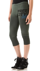 Freecity 3 4 Sweatpants Mineral Green Mud