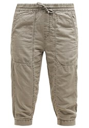M A C Mac Easy Trousers Light Khaki Oliv