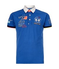La Martina Jugador Polo Shirt Blue
