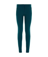 Roberto Cavalli Tailored Skinny Trousers Teal