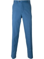 Mp Massimo Piombo Classic Chinos Blue