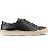 Piola Black Cream Ica Low Top Sneakers