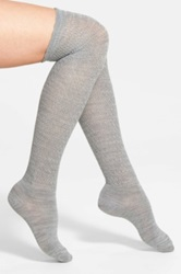 Smartwool Lacy Over The Knee Socks Gray