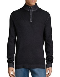 Strellson Virgin Wool Pullover Sweater Black
