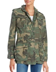 Free People Textured Utility Jacket Green