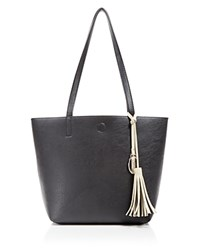 Carlos By Carlos Santana Nadia Reversible Three In One Tote Compare At 79 Black Oatmeal