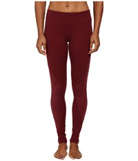 Alo Yoga Undertone Legging Deep Plum Deep Plum Glossy Women's Casual Pants Red