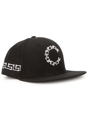 Crooks And Castles Corpse Black Embroidered Twill Cap